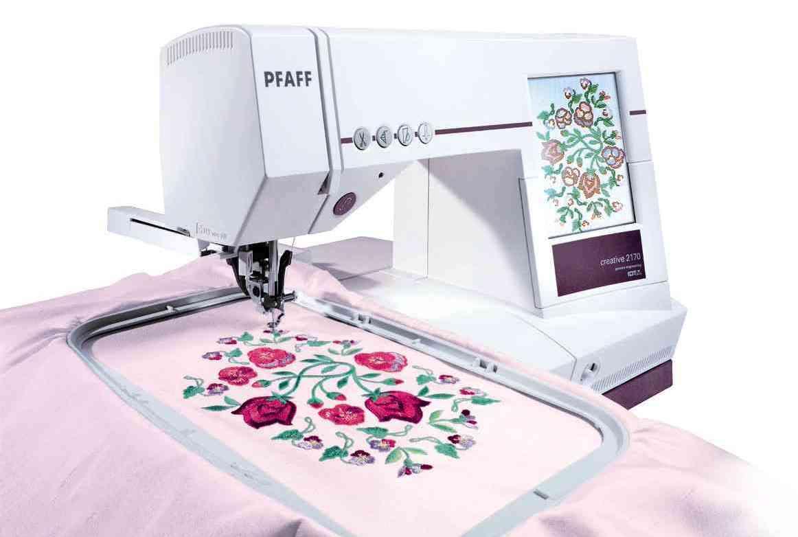 как сделано на вышивальной машине картинки несколько разновидностей