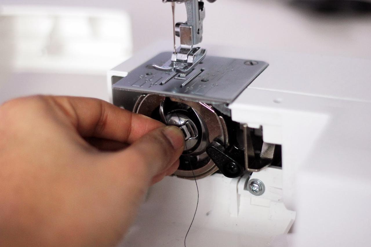 Регулировка швейной машинки джаноме своими руками 53